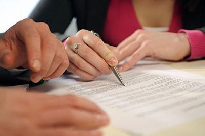 Образцы документов в сфере семейного права